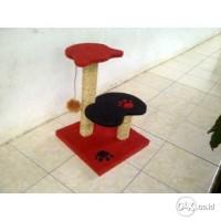 harga Cat Scratcher/cat Condo/garukan Kucing/mainan Kucing Tokopedia.com