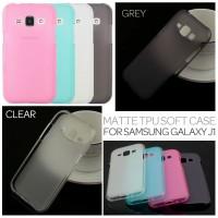 Jual Frosted Soft Silikon Karet Kondom Sarung Case Samsung Galaxy J1