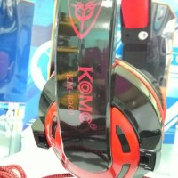 Headset KOMC [ KM-8900 ] 7.1 USB STEREO Gaming [RED Edition] Mantap