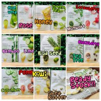 [sachet] innisfree mask it's real squeeze - masker