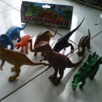 Mainan Binatang Ekslusif Seri Dino World (dinosaurus)