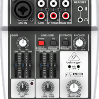 Mixer Behringer Xenyx 302usb/ Xenyx302 usb / Xenyx 302 Usb (original)