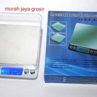 Timbangan Emas dan permata akurasi tinggi Silver 500-0,01 gram,