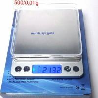 Timbangan Emas dan permata akurasi tinggi Silver 500-0,01 gr / presisi
