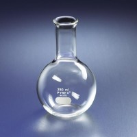 PYREX.4060-250 Boiling Flask 250ml Flat Bottom | Labu Didih