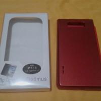 Flipcover Flip Case LG P705 Optimus L7 Merah Polos