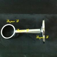 Braket Sambungan Pipa Bulat Gabungan Tengah 2,5cm Rak Baju