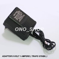 Adaptor 9 Volt 1 Ampere