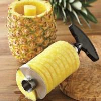 alat pisau kupas pengupas kulit buah nenas nanas stainless pineapple