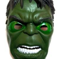 Topeng Super Hero HULK with LED Bisa Nyala - Mainan Anak