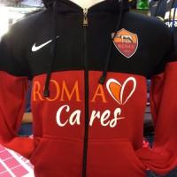 Hoodie Zipper AS Roma Sideline