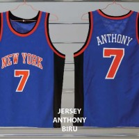 JANT01 - Jersey basket New York Knicks #7 ANTHONY