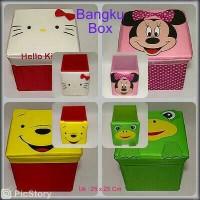 Bangku Box Character MULTIFUNGSI
