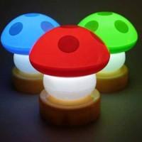 Lampu Tidur Jamur 3D