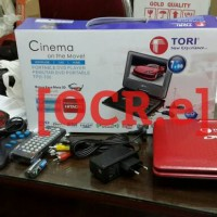 DVD Portabel TORI Layar 7 Inch 3D