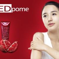 Jual RED POME..Pemutih Kulit Tubuh/Whitening body lotion/wajah Murah