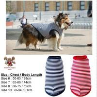 Baju Anjing Besar - Large Dog Clothing Dada 64-91 cm Sailor Blue XL