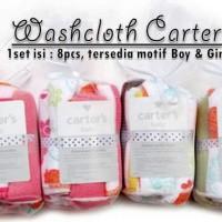 Washcloth / Saputangan Carter 8 in 1