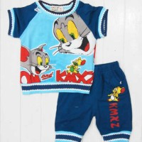 Baju Anak - Tom Jerry Blue (BO-339)
