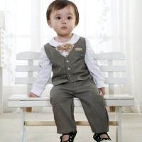 Baju Anak - 3in1 Vest Set (BO-346)