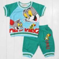 Baju Anak - Tom Jerry Green (BO-339)