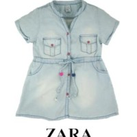Baju Anak -  Zara Denim Shirt (T-074)