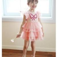 Baju Anak - Bow Chiffon Dress (GI-596)