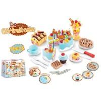 DIY Fruit Cake Playset/Mainan Kue ulang Tahun/Mainan keterampilan Anak