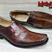 sepatu kerja/kantor pantofel kickers pria kulit [KTC 31] virendra