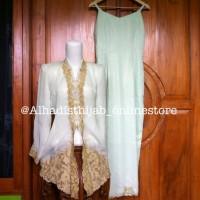 Set Dress Kebaya Bunga Rambat