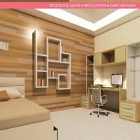 Aplikasi Material pada Dinding