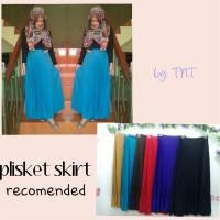 harga Plisket Skirt / Rok Plisket / Flare Skirt / Rok Pencil / Skinny Skirt Tokopedia.com