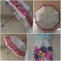 Flower Umbrella UV grey