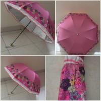 Flower Umbrella UV pink
