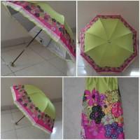 Flower Umbrella UV green