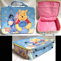 Tas Travel / Koper Anak Spons Besar Winnie The Pooh and Friends