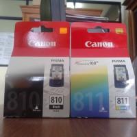 Tinta Printer Canon 810 & 811  original baru asli
