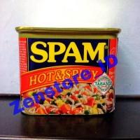 SPAM Hot & Spicy   Daging babi olahan