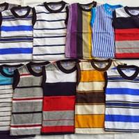 Kaos Anak Salur Lekbong (Tanpa Lengan) Seri Ukuran 1-9 T