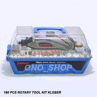 Rotary Tool Kit Kleber Set 190 Pcs