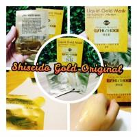 SHISEIDO GOLD WHITENING 24K MASK / MASK GOLD CAIR