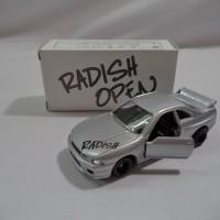 TOMICA RADISH OPEN NISSAN SKYLINE GT-R R33