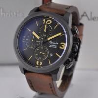 Alexandre Christie 6280 BLCRBR Leather