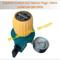 harga Regulator Kompor Gas Tekanan Tinggi + Meter - QUANTUM QRH-09GB Tokopedia.com