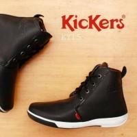 Sepatu Kickers Boot Leather Formal
