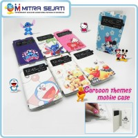 Smartfren Andromax I3 Leather Case Flip Shell Kartun View