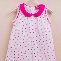 HMHD girl mini pink heart dress 5T