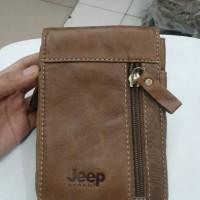 hpo kulit jeep 6302 (sarung hp,tempat hp,dompet hp)