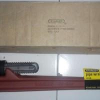 Pipe Wrench / Kunci Pipa Heavy Duty Cast Iron STANLEY 24 Inch
