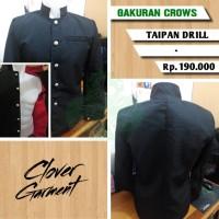 Jas Blazer Crows Zero Genji Takiya ( Jaket Gakuran Cosplay )